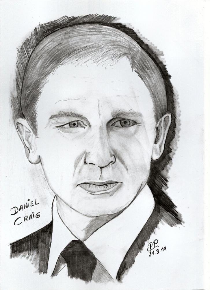 Daniel Craig by Patoux